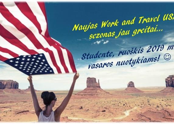 Naujas Work and Travel USA sezonas jau greitai!